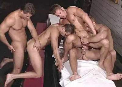 Large cocks at gangbang