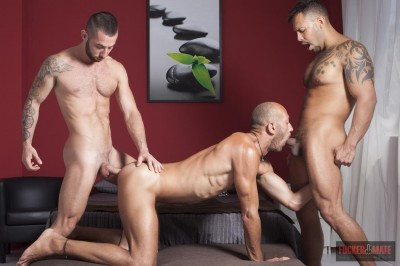 FuckerMate Viktor Rom, Alejandro Torres and Dominic Arrow