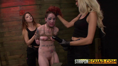 Straponsquad - May 13, 2016 - Sheena Roses Strapon Whore Training Session