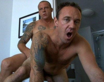 Seduced straight guys - Mark and Stevo