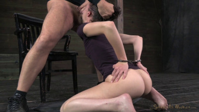 Innocent Face Deep Throating Champ Bonnie Day Brutally Pounded