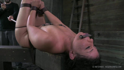 Mia Gold Screams Through Her Gag