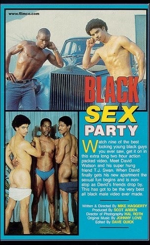 Bareback Black Sex Party Vol. 1 (1986) — David Watson, T.J. Swann, Dennis Johnson