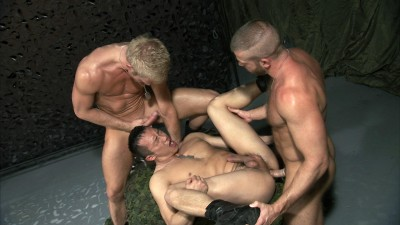 TitanMen Exclusive Hunter Marx with Casey Daniels and Archer Quan, and Troy Daniels and Jayden Grey - Fixation Scenes 2 and 3