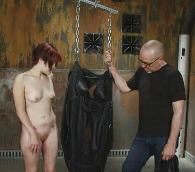 Sandy Skarsgard – Suspended Leather Torment Part 2