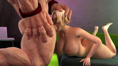 Buggernauts Blonde Sex Toy 3D