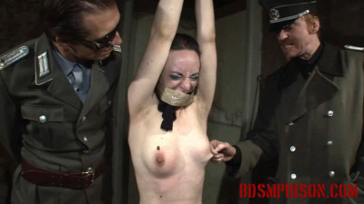 BDSMPrison – Prostitute Nadja Is Imprisoned For BDSM Punishment & Humiliation With Tape Bondage