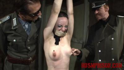 BDSMPrison - Prostitute Nadja is Imprisoned for BDSM Punishment & Humiliation with Tape Bondage