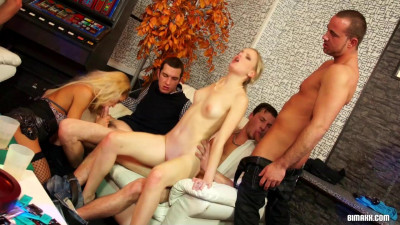 Hot Bisexual Party Got Off To A Hardcore As Fuck Start