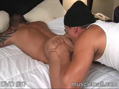 MuscleMatt - Adam Worshipped Seduced