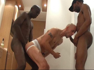 Marco's Hustler And Two Nubian Monster Dicks