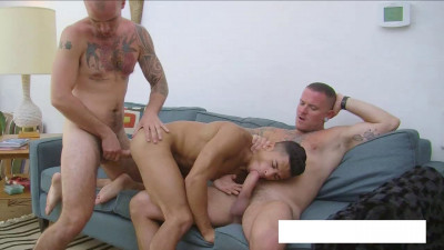 Armond Rizzo's Wet and Raw DP (Armond Rizzo, Max Cameron, Cam Christou)!