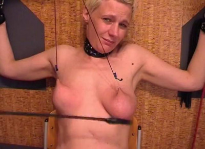 Blonde Female Slave In Shackles… (2014)