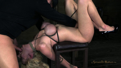 SB - Courtney Taylor, bound, manhandled, used, fucked - Feb 20, 2013