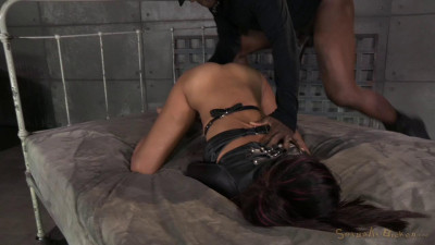Bed Bound In Leather Straightjacket (5 Sep 2014) Sexually Broken