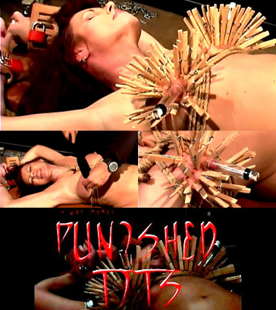 Slave Rubee (Punished Tits) Brutal Master