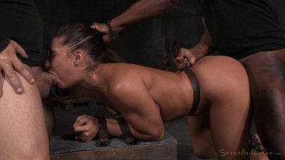 Abella Danger - Bubble butted slut bound bent over and roughly fucked by big dick (2015)