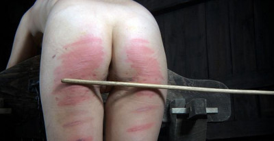 Strong spanking for assholes