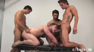 Gabriel Clark, Mason Star, Tommy Defendi & David