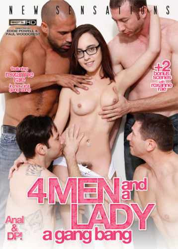 4 Men and A Lady   A Gang Bang (2014)