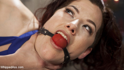 Property of Mistress Kara: Ingrid Mouth bound, beat & anally pounded!