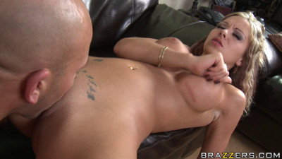Sexy Busty Blonde Seduces The Cable Company Employee