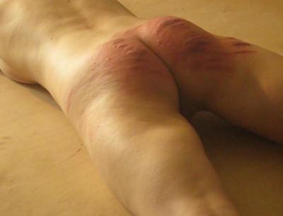 Russian girl wanted hard spanking