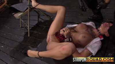 Naughty Schoolgirl Alby Rydes is Punished by Mila Blaze And Isa Mendez (2014)