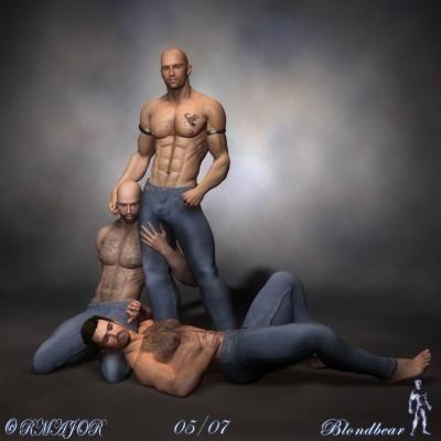 Description 3D Art by Blondbear