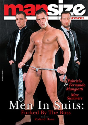 ManSize - Men in Suits - Fucked by the Boss