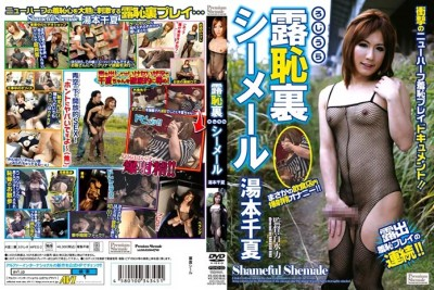 Japanese Shemale Shame in Public