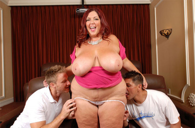 Peaches Larue - Two Cocks On Movie Nite