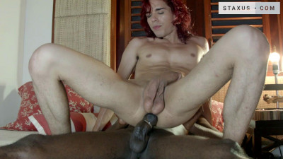 Black dick for redhead bitch!