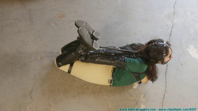 CrotchRope - Ellen Equestrian to PonyGirl - Leather - Part 3