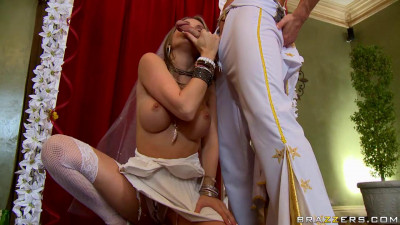 Lusty Bride Takes Big Cock (720)