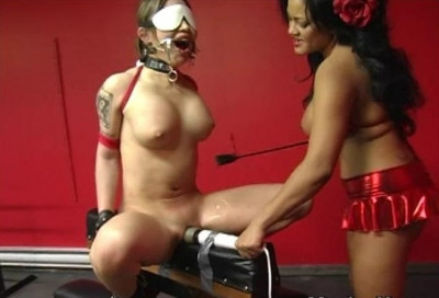 Vibrating Nipple Clamps Added To Slut's Torment And Pleasure