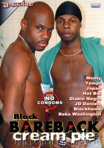 Black Bareback Cream Pie