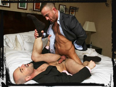 ManHandled - Business ASS-quistion - Steve & Adam