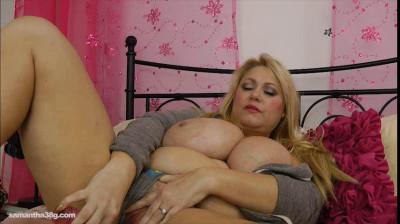 Samantha 38G - Wiggling and Jiggling