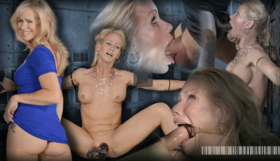 Stunning Simone Sonay ziptied down, brutal blowjobs on BBC (Jul 08, 2014)