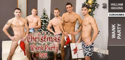 WHiggins - Christmas Wank Party 2012, Part 2 - Wank Party - 26-12-2012