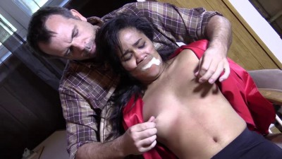 Loni Kidnapped Gagged Ch. Groped Backwoods Bondage Slave