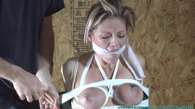 Courtney Mummified Gag Doll 2 part - BDSM, Humiliation, Torture HD 720p