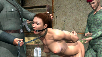 Lara Croft captured
