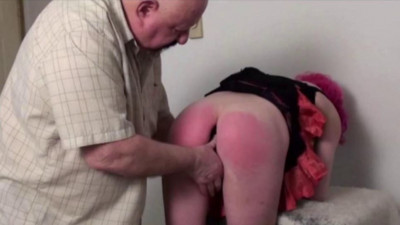 TB - Natasha Plugged and Spanked