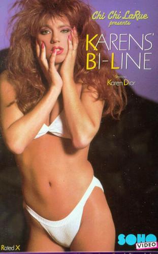Karen's Bi-line(1990) cover