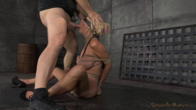 Big Titted Blonde Courtney Taylor Bound Blindfolded