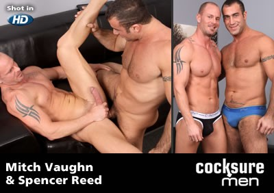 Mitch Vaughn and Spencer Reed