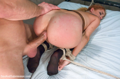 Ashlee Graham Gets Ass Fucked In Bondage.