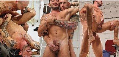 Proctologist Johnny Hazzard and  Harley Everett